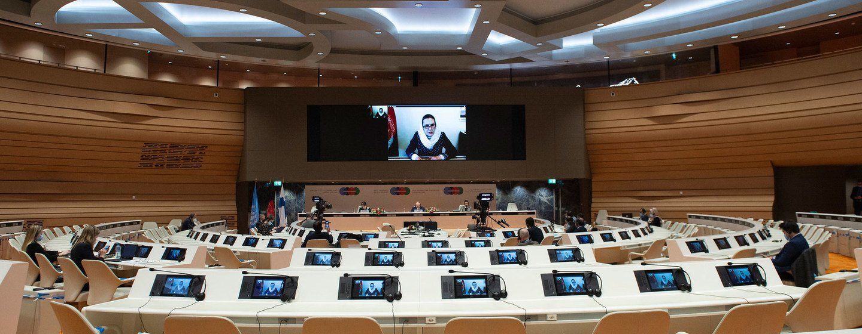 Guterres disseaos participantes que acredita num progresso rumo à pazno Afeganistão quecontribuirá para a região.
