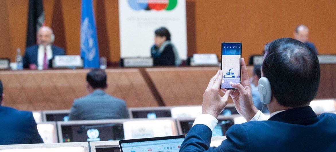 La conférence sur l'Afghanistan a lieu cette année à l'ONU à Genève.
