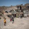 تعمل اليونيسف مع شركائها لإعادة بناء وتأهيل المدارس والمستشفيات في أعقاب الصراع المدمر في الموصل بالعراق.