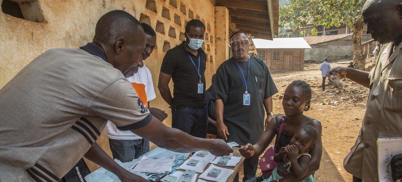 Eleições em Bangui, capital da República Centro-Africana