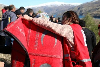Turkish Red Crescent provides essential assistance to people affected by a 6.8 magnitude earthquake that struck eastern Turkey.