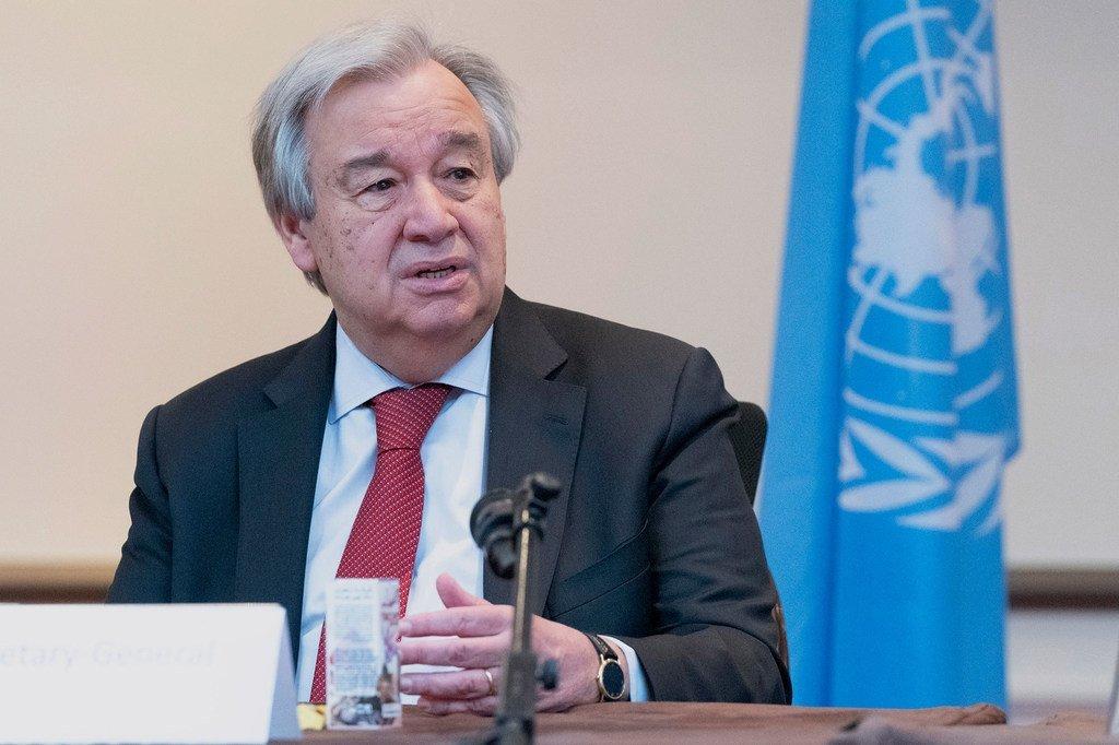 Le Secrétaire général de l'ONU, António Guterres (photo d'archives).