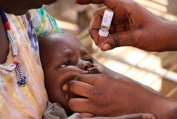 حملة تطعيم تستهدف الوصول إلى نحو 3 ملايين طفل في جنوب السودان.