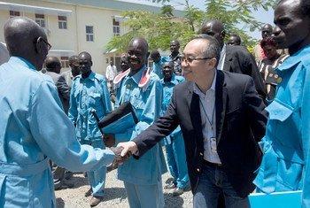 来自中国的丛光获任联合国秘书长南苏丹事务副特别代表,兼联合国南苏丹特派团副团长。