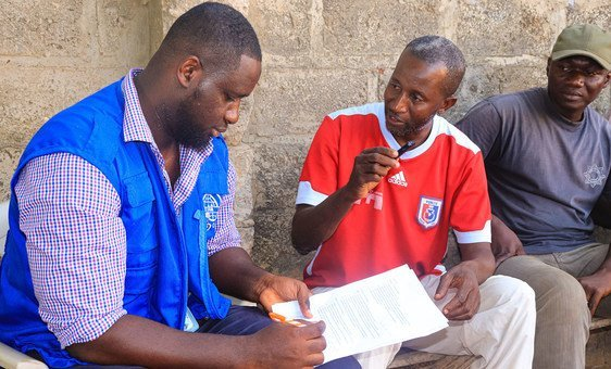 IOM engages community leaders on how best to attend to the psychosocial needs of survivors