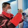 El doctor Lu Xiang, director adjunto de la misión médica de Jiangsu a Huangshi, Hubei.