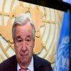 Генсек ООН Антониу Гутерриш провел пресс-конференцию, посвященную 75-й годовщине со дня принятия Устава ООН.