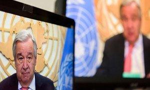 Para António Guterres, educação e tecnologia digital estão entre os investimentos mais importantes.