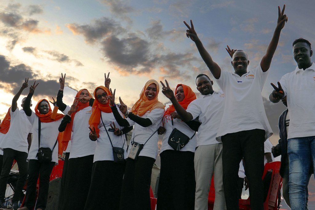 A High-Level Sudan Partnership Conference in Berlin acknowledged young people, especially women and girls, as drivers of change for a democratic, free and peaceful country.