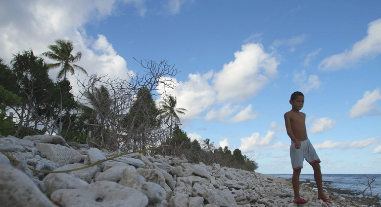 Tuvalu is highly susceptible to climate change