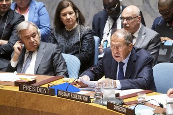 На заседании Совбеза под председательством мининдел РФ Сергея Лаврова обсудили вопросы сотрудничества ООН с ОДКБ, СНГ и ШОС