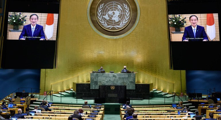 Japan to 'proactively lead' on COVID-19 response efforts  - news un
