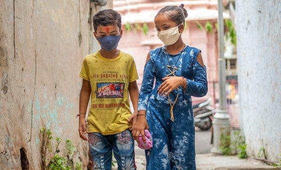 कोविड महामारी से निपटने के लिये भारत में संयुक्त राष्ट्र, सरकार को पूरा सहयोग दे रहा है.