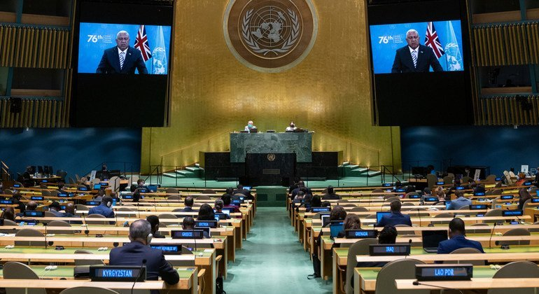 Pacific nations appeal for solidarity to combat COVID-19 and climate change