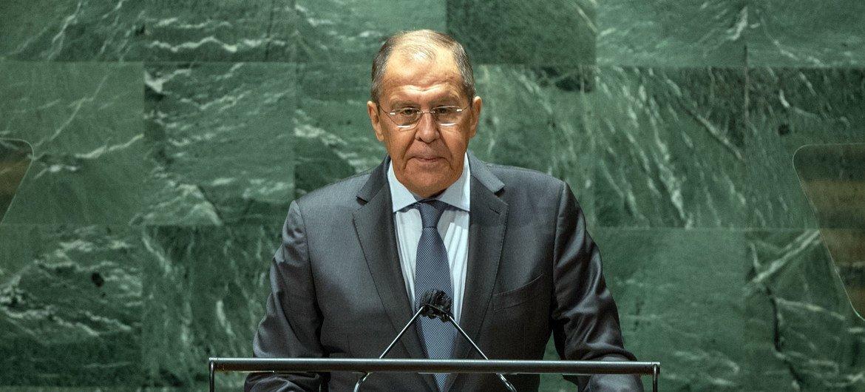Министр иностранных дел РФ Сергей Лавров выступил на общеполитической дискуссии 76-й сессии Генассамблеи ООН.
