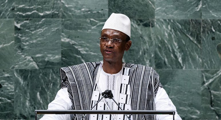 As crises 'pile up' in the Sahel, Malian leader says it's time to consider more robust mandate for UN Mission