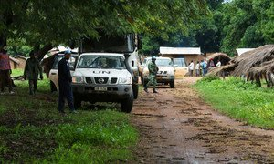 UN peacekeepers in the Central African Republic patrol Ouham-Pendé in the northwest of the country.