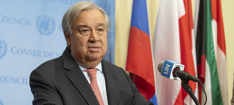 Em encontro com correspondentes na sede da ONU, em Nova Iorque, secretário-geral comentou a onda de manifestações que ocorrem no mundo.