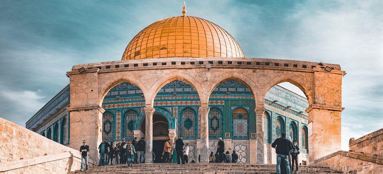 Al Aqsa mosque in Jerusalem's Old City.