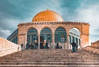 Mesquita de Al Aqsa, em Jerusalém.