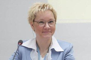 Оксана Тарасова, начальник отдела атмосферных исследований ВМО
