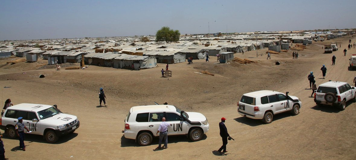 Bentiu is the largest Protection of Civilians camp in South Sudan.