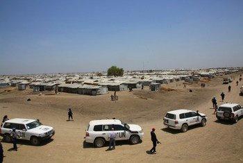تعتبر بلدة بانتيو أكبر معسكر تلبع للأمم المتحدة بغرض حماية المدنيين الفارين من العنف والنزاع في جنوب السودان.