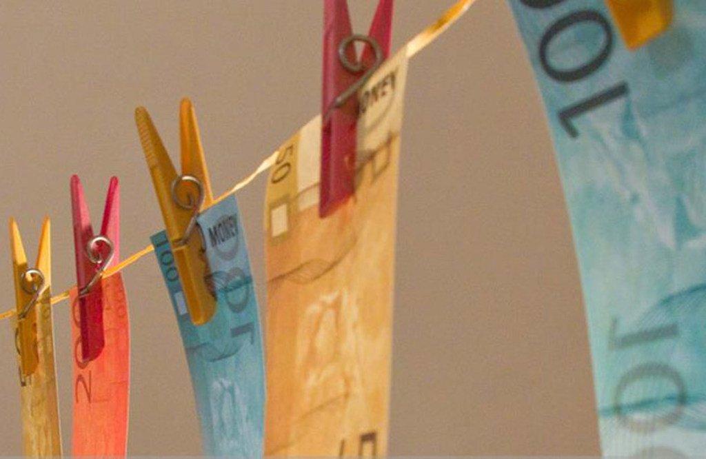 厄瓜多尔开展的反洗钱宣传。(资料图片)