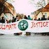 A climate change demonstration in Erlangen, Germany.