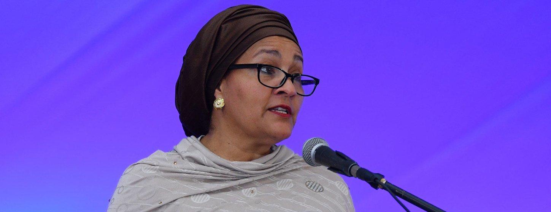 Amina Mohammed se reunirá com personalidades regionais e da Rede de Mulheres Líderes Africanas