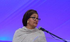 La Vice-Secrétaire générale des Nations Unies, Amina Mohammed (archive)