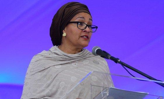 Deputy Secretary-General Amina Mohammed (file)