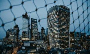 Vista de la City de Londres, el distrito financiero de la ciudad británica.