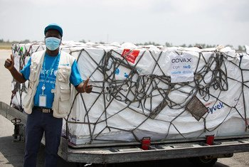 504,000 COVID-19 vaccine doses from the COVAX facility have arrived in Côte d'Ivoire. (file)