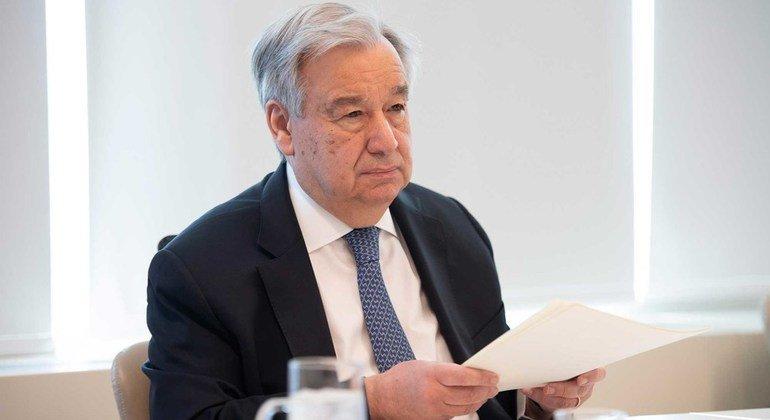 O secretário-geral está em Bruxelas para uma série de reuniões com dirigentes europeus e autoridades belgas