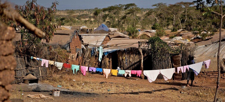 埃塞俄比亚提格雷地区的希梅尔巴难民营。(资料图片)