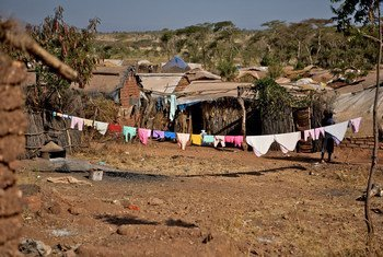 Le camp de réfugiés de Shimelba dans la région de Tigray en Ethiopie (Archives)