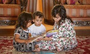 Más de cien millones de niños carecen de las competencias mínimas de lectura debido a los cierres escolares resultados de la pandemia de COVID-19.