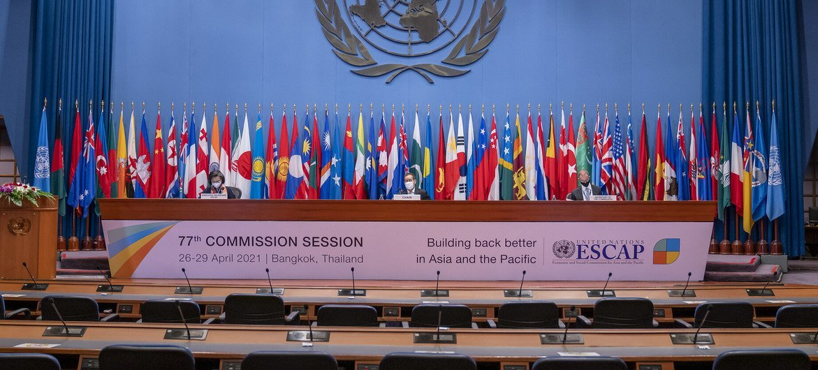 Opening of the 77th session of the Economic and Social Commission for Asia and the Pacific.