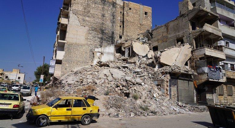 من الأرشيف: الصراع في سوريا خلف دمارا كبيرا في حلب.