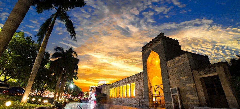 Qingjing Mosque in Emporium of the World, Song-Yuan China.