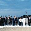 Viongozi wa kundi la nchi 7,  G7 na wadau wao kwenye picha ya pamoja katika Hoteli la Palais Biarritz nchini Ufaransa,. (25 Agosti 2019)