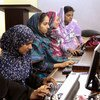 In Pakistan, students learn computing skills as billions of people globally are responding to the COVID-19 pandemic with the use of digital tools.