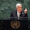 Mahmoud Abbas, President of the State of Palestine, addresses the 74th session of the United Nations General Assembly's General Debate. (26 September 2019)