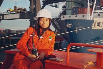 The IMO Women in Maritime programme supports the participation of women in both shore-based and sea-going posts.