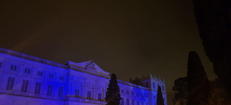 Palácio Nacional da Ajuda, Lisboa, Portugal.