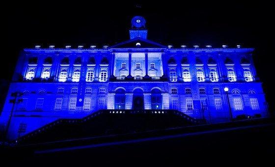 Palácio da Bolsa, no Porto, em Portugal.