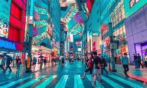 日本首都东京需要大量电力来为这座城市供电。