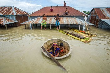 Des inondations au Bangladesh ont submergé plus de 25% du pays en 2020.
