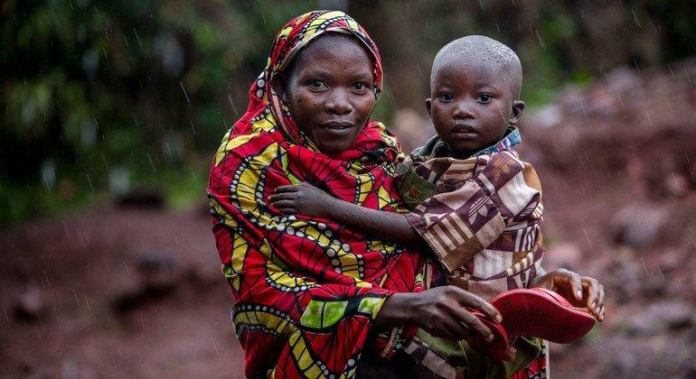 Wakimbizi wa Burundi waliorejea nyumbani wakiwa katika kijiji cha Higiro kaskazini mwa Burundi. (Maktaba)